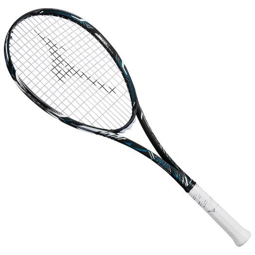■送料無料■◆MIZUNO◆ミズノ 63JTN865-27DIOS 50-R(ディオス50アール)[ハイブリッドブラック×フューチャーブルー]テニス/テニスラケット/ソフトテニス/ラケット/フレームのみ/フレーム