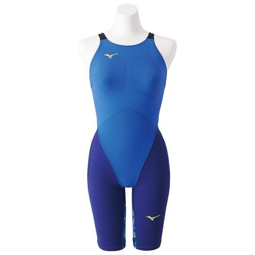 ■送料無料■◆MIZUNO◆ミズノ N2MG8712-27 MX・SONIC G3 ハーフスーツ[ブルー] 【水泳】競泳水着/競泳/水泳/スイミング/レディース