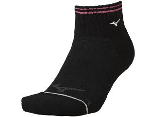 ◆MIZUNO◆ミズノ 62JX0001-09 ショートソックス [ブラック] 足の形状に合わせた立体設計の3DLR設計。卓球/ソックス/靴下/くつした【RCP】
