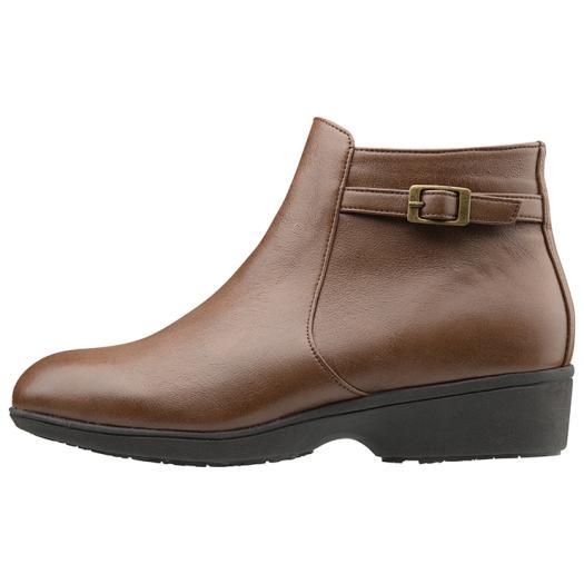 ■送料無料■◆MIZUNO◆ミズノ B1GH1662-58 SELECT655[ダークブラウン] 使い勝手の良いシンプルなショートブーツ。雨の日も雪の日も、快適に履ける防水仕様。 靴/散歩/私用/レディース/ウィメンズ/女性用