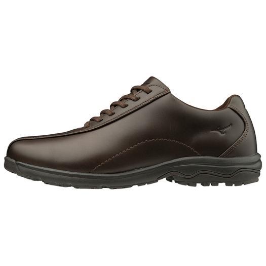 ■送料無料■◆MIZUNO◆ミズノ B1GC1917-58 LD40 V[ダークブラウン] オン・オフ使えるオールラウンダー。 [革靴/ウォーキングシューズ/ビジネスマン/私用/出勤時/シンプル]