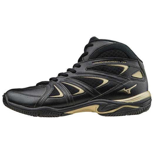 ◆MIZUNO◆ミズノK1GF1571-09 WAVE DIVERSE LG3 ウエーブダイバース LG 3[ブラック]「豹のようにしなやかに、素早く。」魅せるパフォーマンスをサポートする3代目LG。【フィットネス】メンズ/靴/シューズ/エアロビクス/ダンスエクササイズ