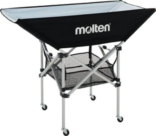 ▼molten▼モルテン BK0032-K 折りたたみ式平型ボールカゴ 背低 [バレーボール/ボール入れ/ストック] [年度:2020]