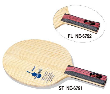 ■送料無料■【Nittaku】ニッタク ビオンセロ FL(フレア) NE-6792 振動吸収に優れたカットモデル【卓球用品】シェークラケット【smtb-u】
