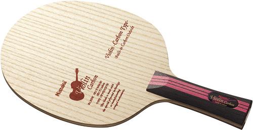 ■送料無料■【Nittaku】ニッタク NC-0432 バイオリンカーボン FL(フレア) 【卓球用品】シェークラケット/卓球/ラケット/卓球ラケット