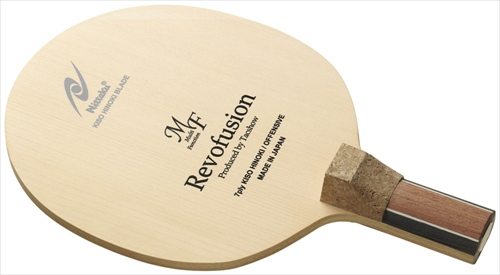 【Nittaku】ニッタク NE-6410 レボフュージョン MF 日本式グリップ 【卓球用品】ペンラケット/卓球/ラケット/卓球ラケット