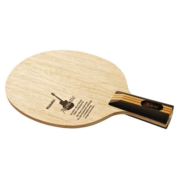 ★即納/あす楽★■送料無料■【Nittaku】ニッタク NE-6661 アコースティックC(中国式)【卓球用品】中国式ペンラケット/卓球ラケット/卓球/ラケット