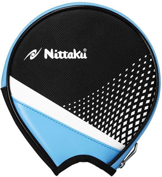 卓球用ケース 卓球 ラケットケース Nittaku ニッタク NK-7217-04 卓球用品 送料無料でお届けします バッグ サックス STREAM ストリームラウンド ROUND 2020新作