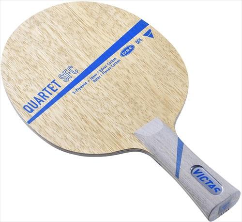 【TSP】VICTAS/ヴィクタス 028704 QUARTET SFC FL [カルテット SFC FL(フレア) 【卓球用品】シェークラケット/ラケット/卓球ラケット