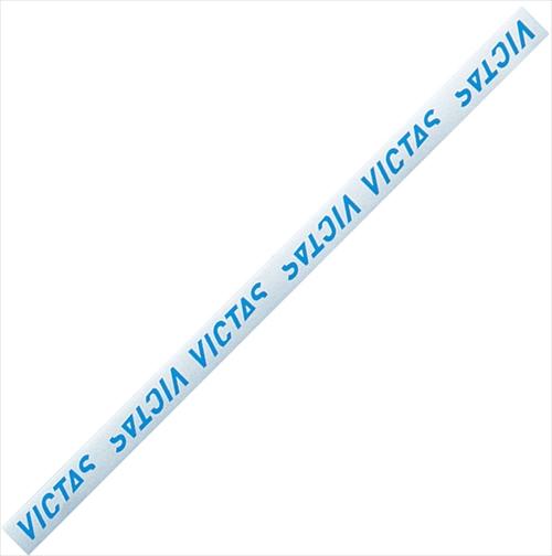 即納 あす楽 TSP VICTAS ヴィクタス 期間限定の激安セール 044155-0543 サイドテープ LOGO ガードテープ シルバー 10mm ブルー 登場大人気アイテム 卓球ラケット 卓球 卓球用品 メンテナンス