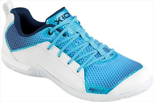 【一部生産終了】【XIOM】エクシオン 095601-0120 フットーワーク シューズ (FOOTWORKシューズ) [ブルー]【卓球用品】シューズ/靴/卓球/卓球シューズ