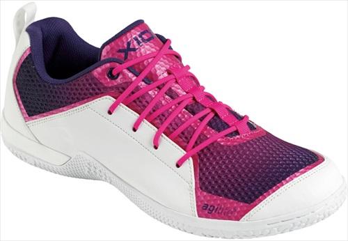 【一部生産終了】【XIOM】エクシオン 095601-0360 フットーワーク シューズ (FOOTWORKシューズ) [パープル]【卓球用品】シューズ/靴/卓球/卓球シューズ