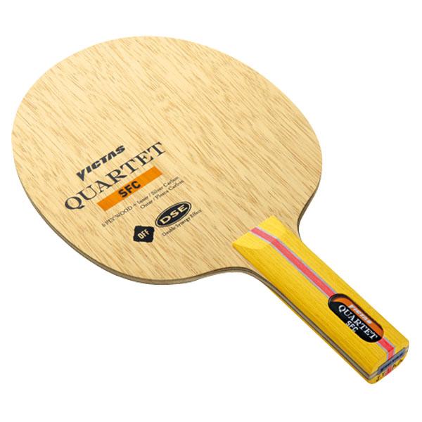 【VICTAS】ヴィクタス 026575 カルテット SFC ST(ストレート) 【卓球用品】シェークラケット/卓球/卓球ラケット