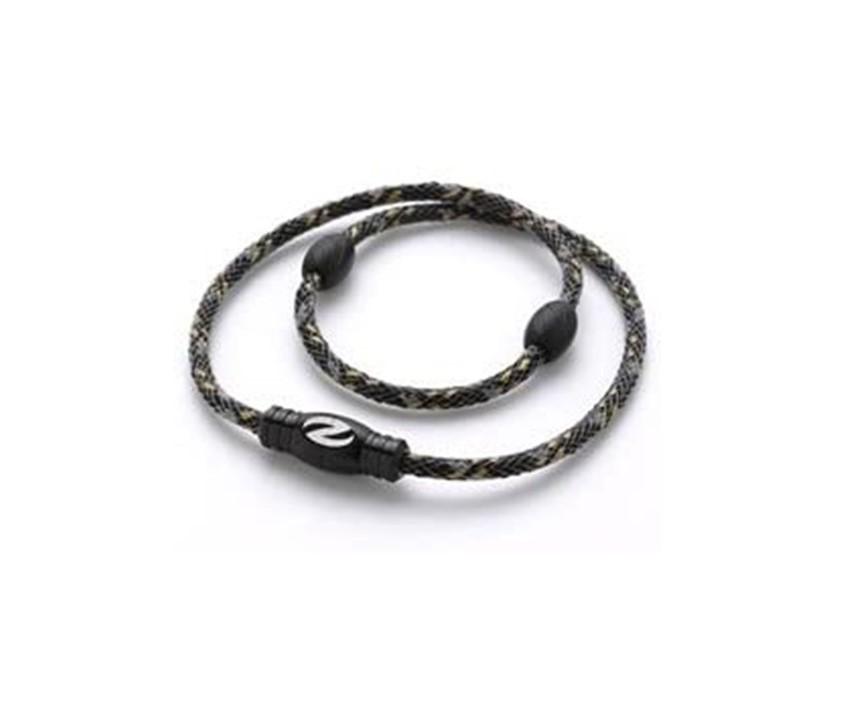 Zaoral ザオラル リカバリーネックレス ブラック/ブラック(N12914 BK/BK) Sサイズ