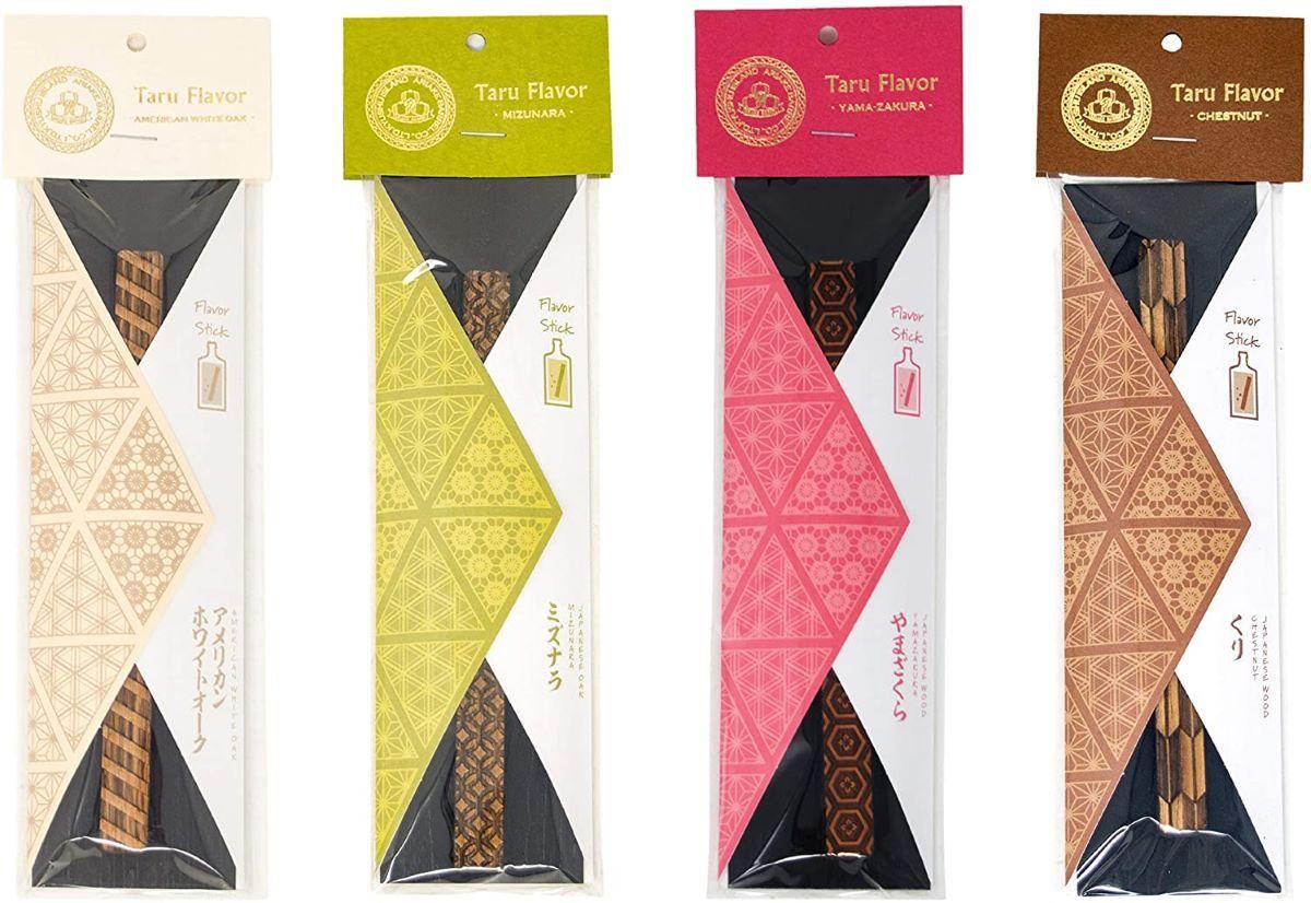 Taru Flavor 4種 ホワイトオーク 直営店 ヤマザクラ 4種×各1本セット 推奨 各1本 ミズナラ クリ