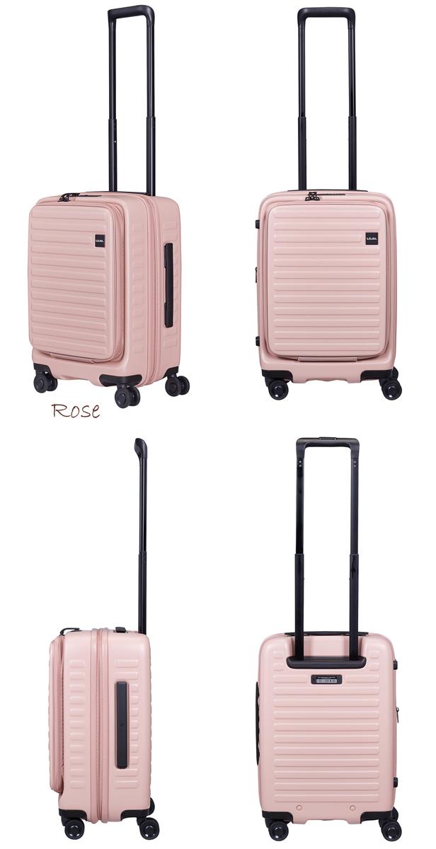 【送料無料】【機内持ち込み可能】ロジェール(LOJEL) CUBO-S フロントオープンキャリー 37L ジッパーキャリー TSAロック スーツケース ハード 容量拡張 (フロントオープン 旅行 キャリーケース かわいい おしゃれ キャリーバッグ)