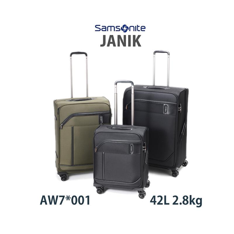 【機内持込可能】サムソナイト ジャニック Samsonite Janik AW7*001 42L ソフトキャリー ジッパーキャリー スーツケース TSAロックサムソナイト(機内持ち込み キャリーバッグ 海外旅行 キャリーケース おしゃれ ソフトキャリーケース ソフト 機内 持ち込み)