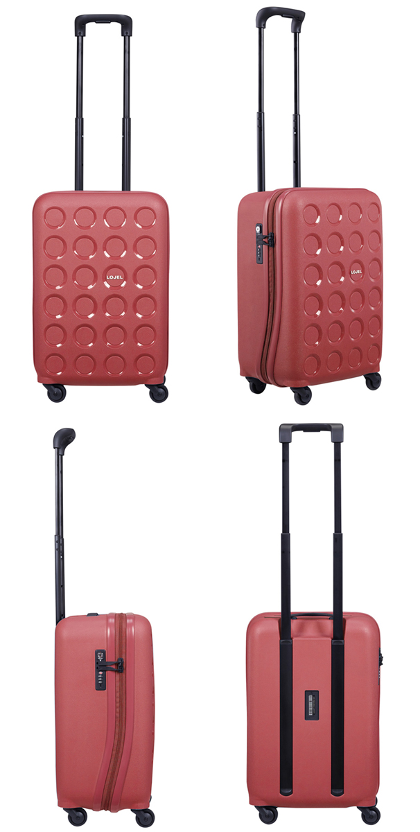 【送料無料】【機内持ち込み可能】ロジェール(LOJEL) VITA-S ジッパーキャリー 35L TSAロック スーツケース サイレントキャスター ハード(旅行 キャリーケース かわいい おしゃれ デザイン キャリーバッグ)