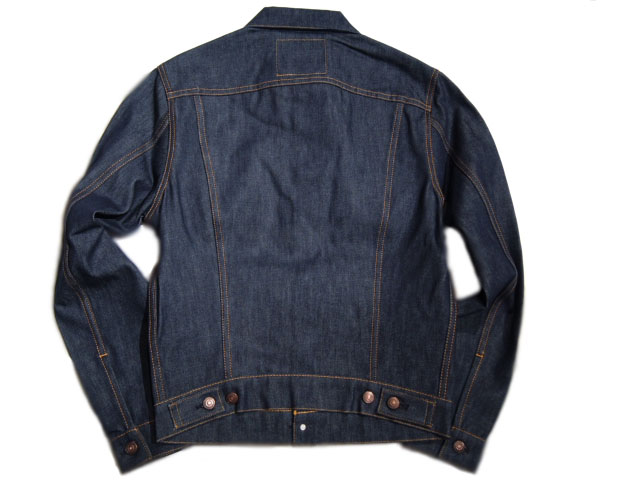 李维斯 XX/李维斯老式服装 / (reebaisbintageclosing) #70505 1967 TYPE3 牛仔夹克制造的 U.S.A./indigo 刚性 /