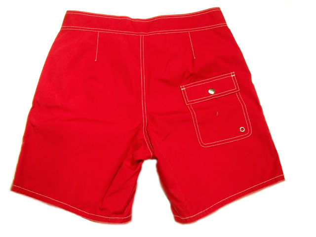 BATTEN WEAR(batenuea)BOARD SHORTS/red