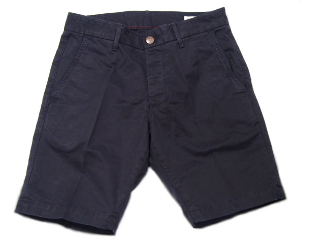 GROWN & SEWN (グロウン&ソーン) /INDEPENDENT SLIM SHORTS TWILL(ツイルショーツ)/navy