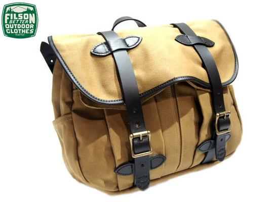 FILSON(フィルソン)/#70232 MEDIUM FIELD BAG(ミディアムフィールドバッグ)/tan