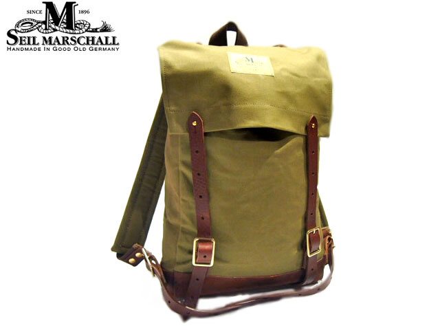 【当店別注カラー】SEIL MARSCHALL(サイルマーシャル)/WOODS MAN PACK /HAND MADE IN GERMANY/US KHAKI