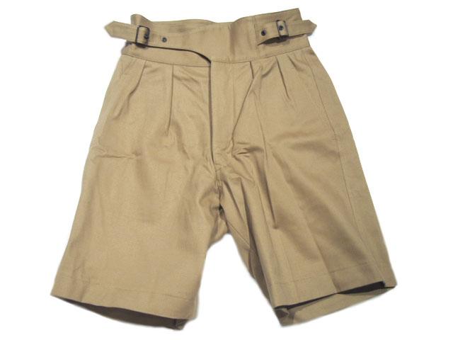 法國盈餘商店 (法國剩餘物品的商店) 卡其色短褲//GURKHA