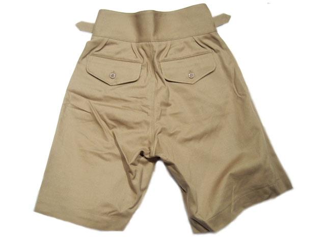 法国盈余商店 (法国剩余物品的商店) 卡其色短裤//GURKHA