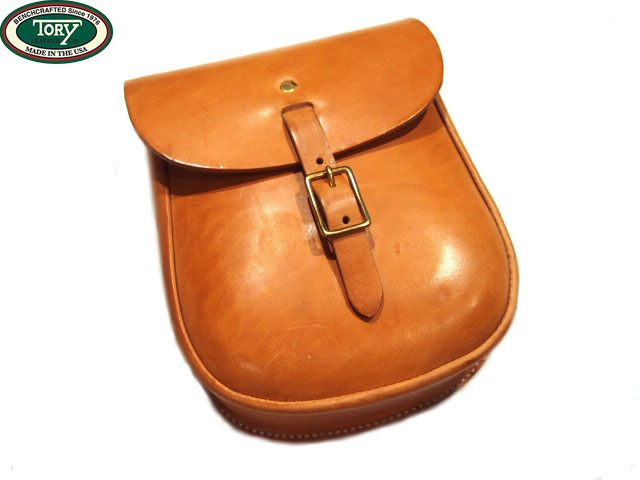TORY(トーリ)/SANDWICH SLING LEATHER BAG(サンドウィッチ・スリングバック)/buck brown