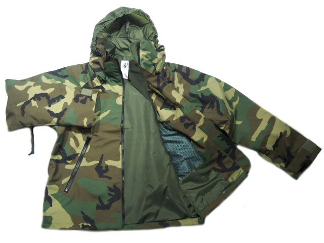 CORONA(光晕)/#CJ122 17-01 NAVY SHIPBORD JACKET/woodland camo