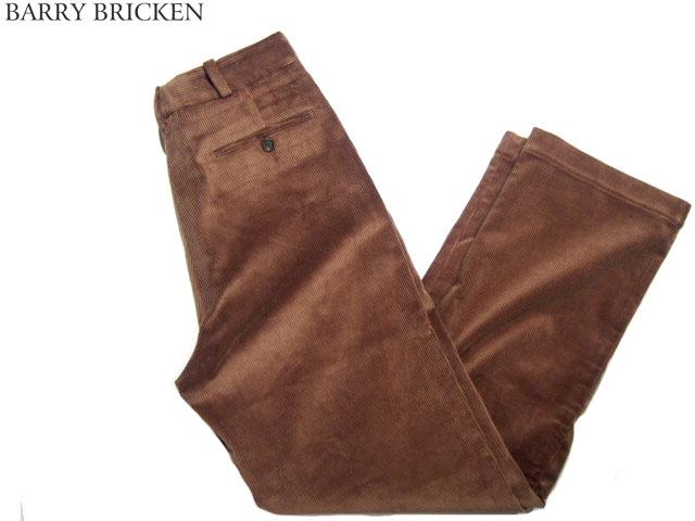 BARRY BRICKEN(バリーブリッケン) /DAVID(デビッド)CORDUROY PANTS/brown