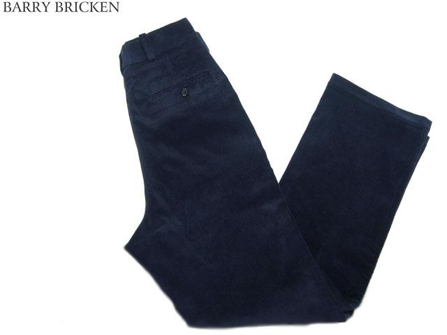 BARRY BRICKEN(バリーブリッケン) /DAVID(デビッド)CORDUROY PANTS/navy