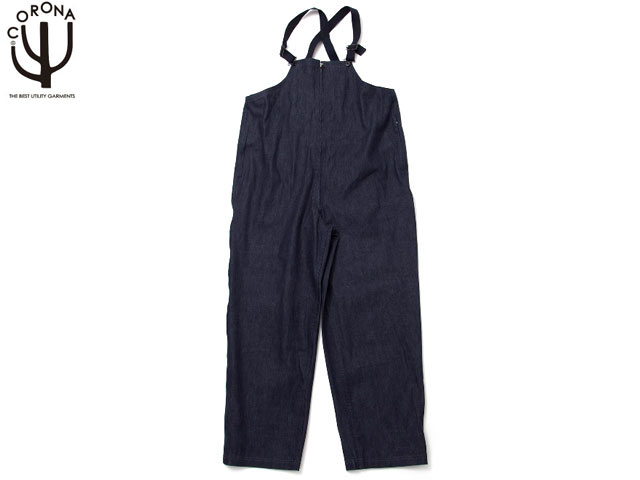 CORONA(コロナ)/#CP037-18-01 8.5oz DENIM NAVY OVER PANTS/indigo