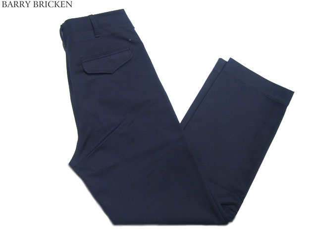 BARRY BRICKEN(バリーブリッケン) /MILITARY CHINO PANTS(ミリタリー)/navy