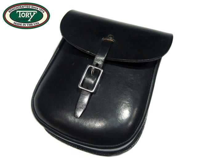 TORY(トーリ)/SANDWICH SLING LEATHER BAG(サンドウィッチ・スリングバック)/black