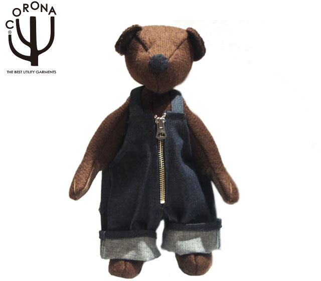 CORONA(コロナ)/#CA002-19-01 LUCY TAILOR HAND MADE TEDDY BEAR-S(ハンドメイド・テディベアー)/brown