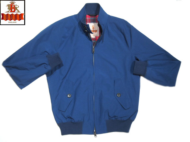 【期間限定30%OFF!!】BARACUTA(バラクータ)/ORIGINAL G9 JACKET REGULAR FIT(G9 ハリントン ジャケット)/cobalt blue
