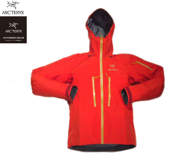 ARC'TERYX(アークテリクス)/ ALPHA SV JACKET(2019国内限定アルファSVジャケット)2019 LIMITED EDITION MADE IN CANADA/cardinal x gold
