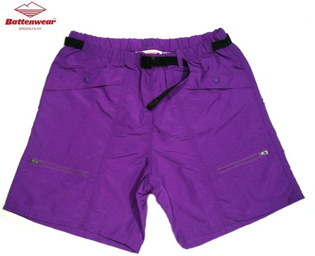【期間限定30%OFF!】BATTEN WEAR(バテンウェア)CAMP SHORTS(キャンプショーツ)/purple