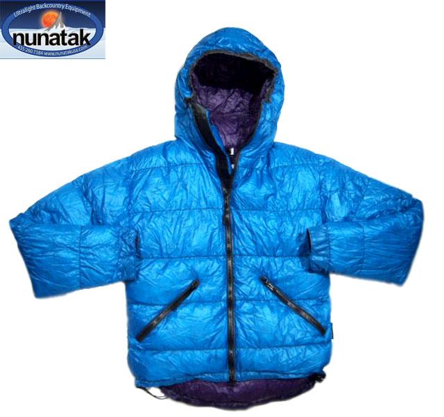 NUNATAK(ヌナタク)/KOBUK DOWN HOODIE JACKET(コーブック・ダウン・フーディー)/bright blue