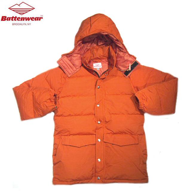 【期間限定30%OFF!】BATTEN WEAR(バテンウェア)/#FW19101A BATTEN DOWN PARKA(バテン・ダウンパーカ)/orange