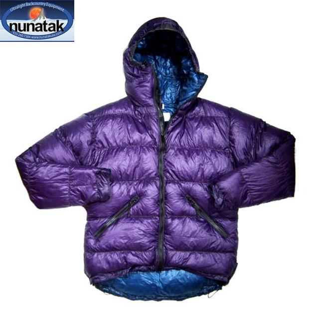 NUNATAK(ヌナタク)/KOBUK DOWN HOODIE JACKET(コーブック・ダウン・フーディー)/purple