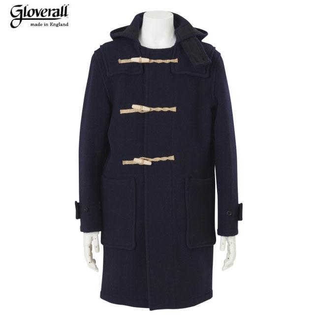 【期間限定30%OFF!】GLOVERALL(グローバーオール)/#5750 MONTY DUFFLE COAT(モンティー・ダッフルコート)/navy