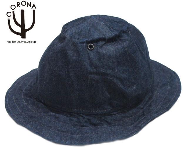 CORONA(コロナ)/#CA005-20-03 LUCY TAILOR HAND MADE REVERSIBLE UTICA HAT/denim
