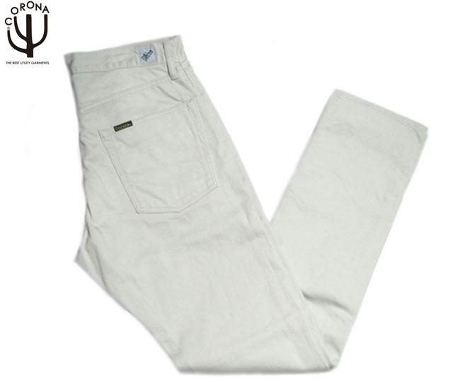 CORONA(コロナ)/#CP001S-1610W PIQUE FIVE POCKET PANTS/off white