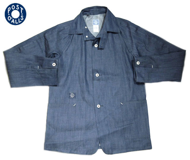 【期間限定20%OFF!】POST OVERALLS(ポストオーバーオールズ)/#2131 SB40R 5oz DENIM JACKET/indigo