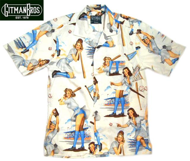 GITMAN VINTAGE(ギットマンヴィンテージ)#450-99 CAMP SHIRTS w/POCKET(半袖シャツ)/SWINGERS