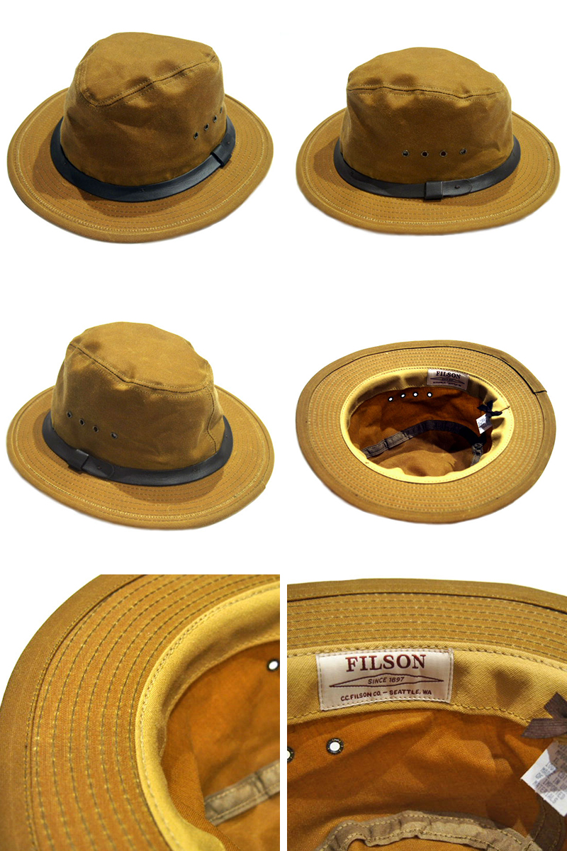 travels  FILSON (Filson) TIN CLOTH PACKER HAT  0d12dd1d76c