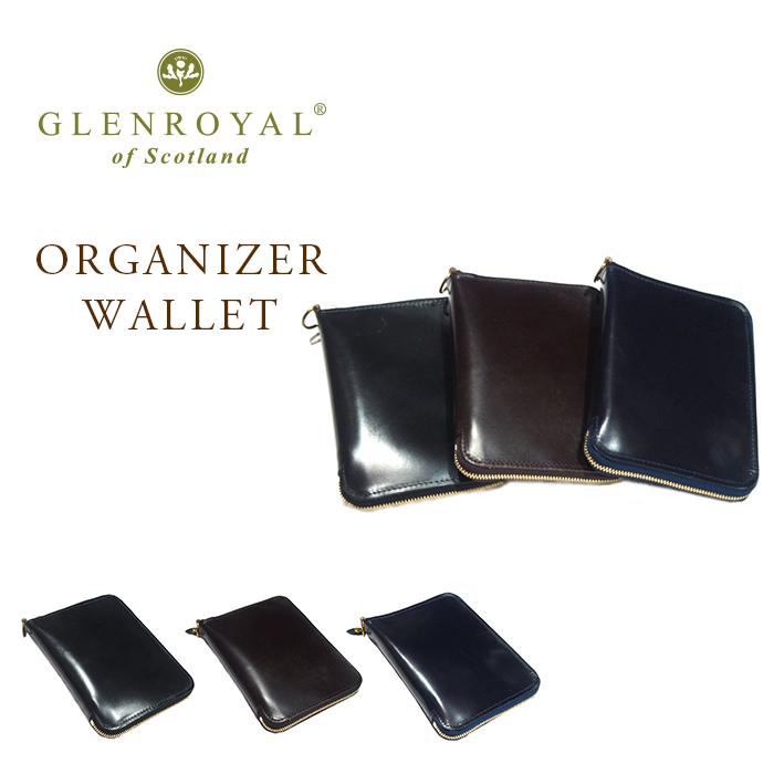 GLENROYAL(グレンロイヤル)/TRAVEL ORGANIZER WALLET(オーガナイザーウォレット)/bridle leather